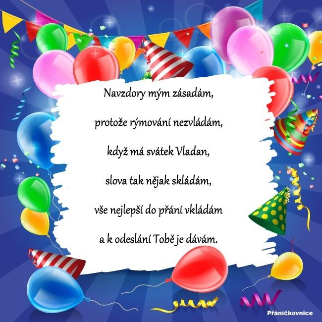 Vladan (9.1.) – přání k svátku