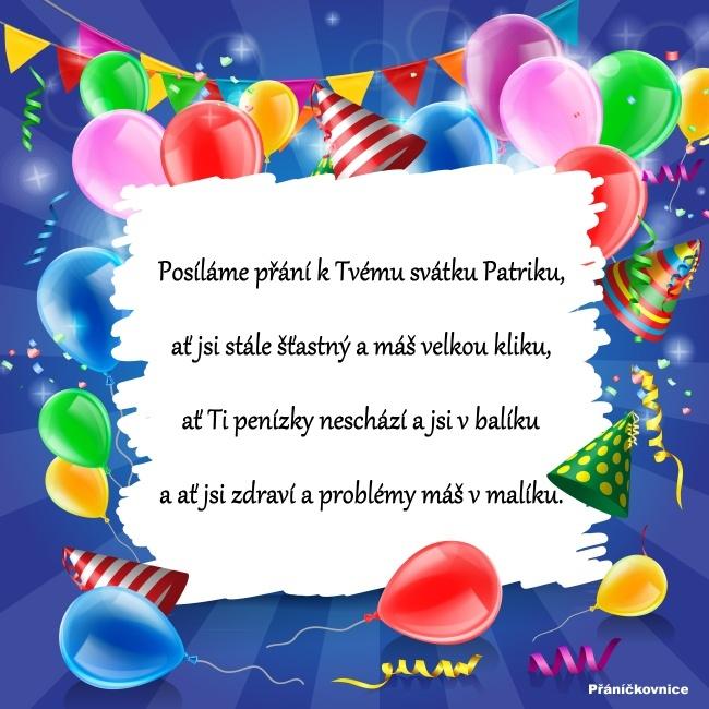 Patrik (19.2.) – přání k svátku #2