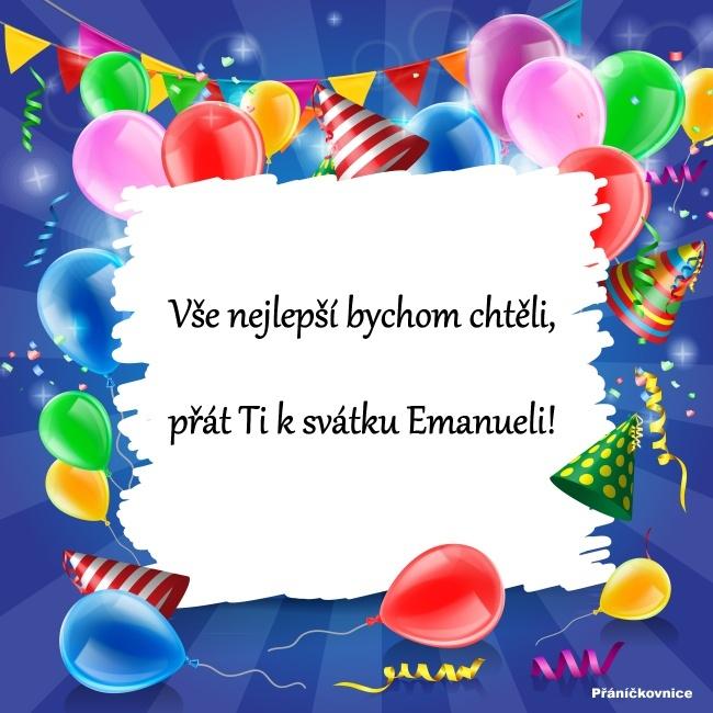 Emanuel (26.3.) – přání k svátku