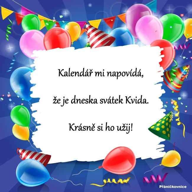 Kvido (31.3.) – přání k svátku