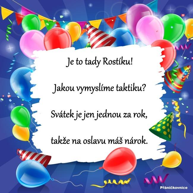Rostislav (19.4.) – přání k svátku