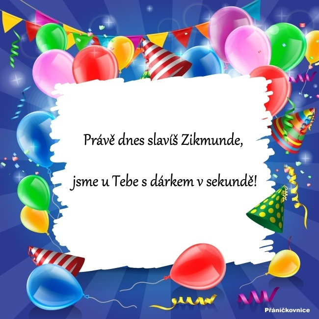 Zikmund (2.5.) – přání k svátku