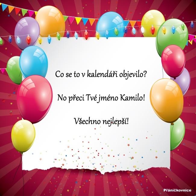 Kamila (31.5.) – přání k svátku #1