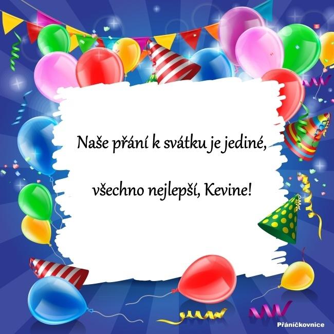 Kevin (3.6.) – přání k svátku