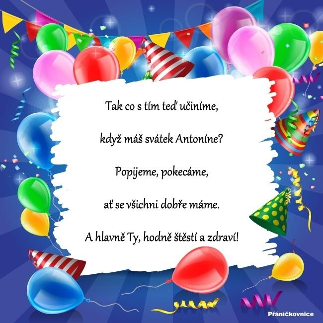 Antonín (13.6.) – přání k svátku