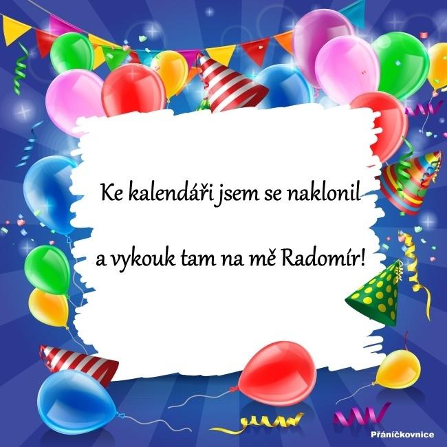 Radomír (3.7.) – přání k svátku