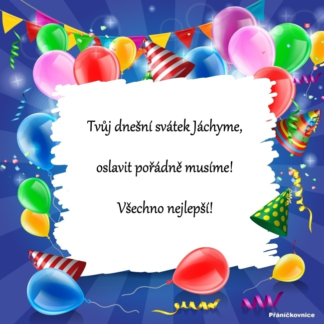 Jáchym (16.8.) – přání k svátku