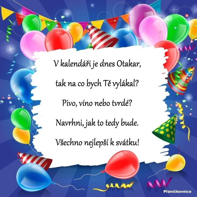 Otakar (27.8.) – přání k svátku