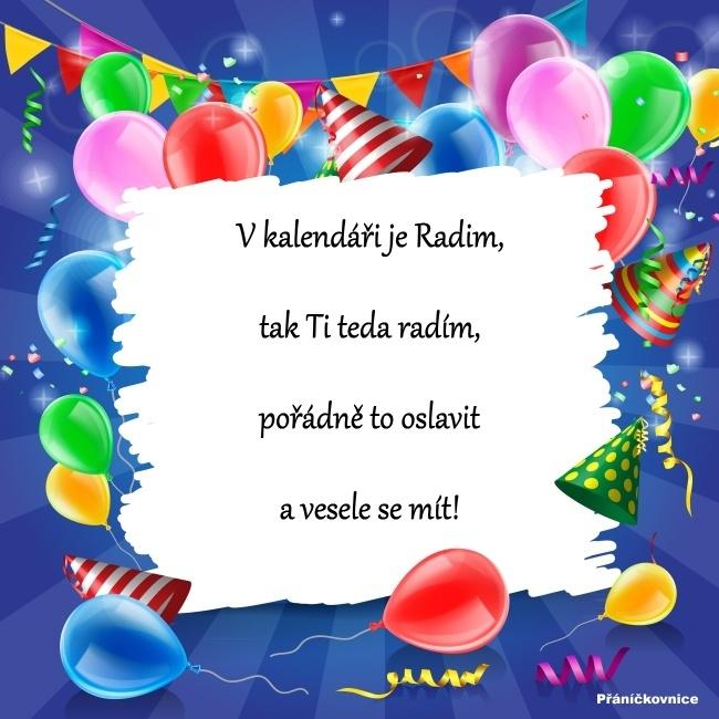 Radim (25.8.) – přání k svátku
