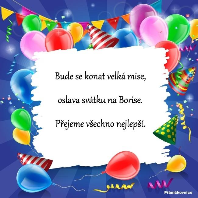 Boris (5.9.) – přání k svátku
