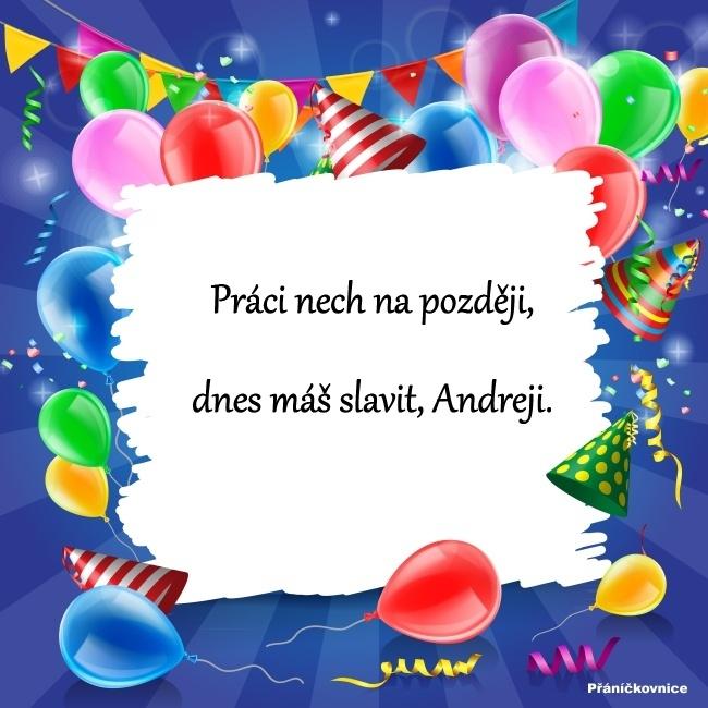 Andrej (11.10.) – přání k svátku