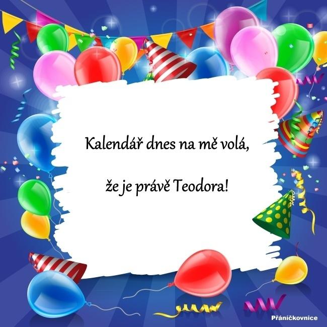 Teodor (23.10.) – přání k svátku