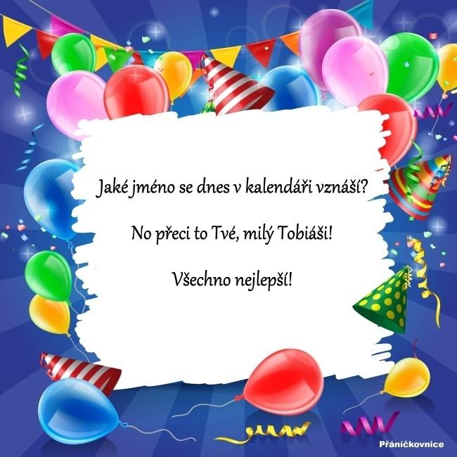 Tobiáš (2.11.) – přání k svátku